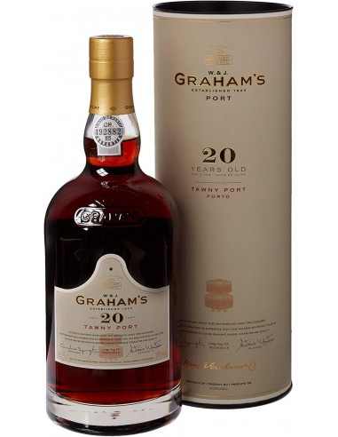 PORTO GRAHAM'S 20 ANS 20° 75 CL